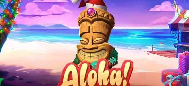 Aloha! Christmas is now live at the best NetEnt casinos