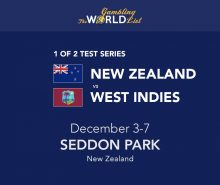 New Zealand v West Indies betting tips and prediction; 1st Test preview 2020