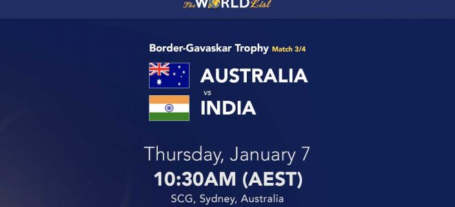 Australia v India betting tips and prediction; 3rd Test preview 7/1/2021