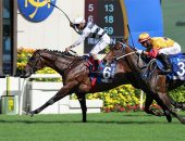 Panfield wins the Champion and Chater Cup at Sha Tin on May 23, 2021