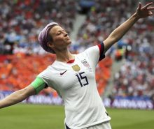 Megan Rapinoe starred at the 2019 Women's World Cup