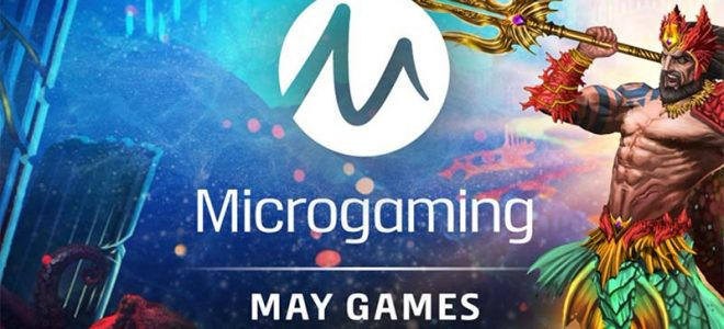 Microgaming online slots release list for May 2021